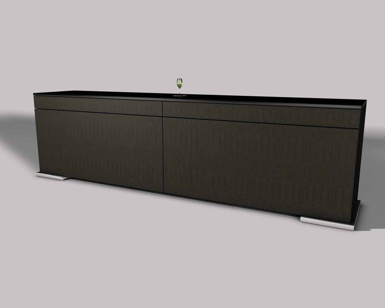 Création meubles contemporains Yoan Polizzi » Buffet