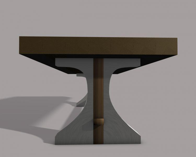 cr ation meubles contemporains yoan polizzi tables. Black Bedroom Furniture Sets. Home Design Ideas